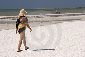 Walking On The Beach Stock Photos - Image: 1441563