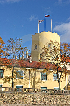 Riga Castle (Riga, Latvia) Royalty Free Stock Photo - Image: 1448605