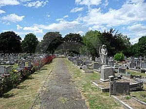 天使坟园 库存图片 - 图片: 14401901