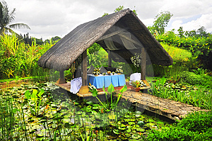 Nipa Hut Royalty Free Stock Photos - Image: 14402908