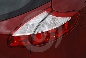 Tail Lights Stock Photo - Image: 14405730