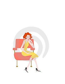 Relaxing Girl Royalty Free Stock Photos - Image: 14407468