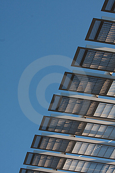Architectural Structure Against Blue Sky Stock Image - Image: 14408511