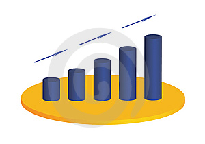 Business Graph Stock Image - Image: 14409201