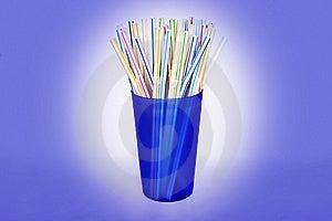 Drinking Straws Royalty Free Stock Image - Image: 14412836
