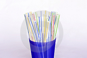 Drinking Straws Stock Images - Image: 14412854