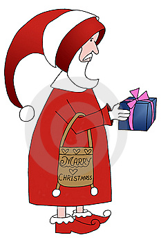 Santa Claus Illustration Royalty Free Stock Image - Image: 14416546