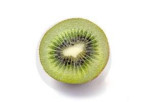 Kiwi Isolated On White Royalty Free Stock Photography - Image: 14418377