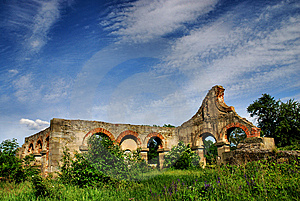 Old Factory Royalty Free Stock Image - Image: 14420686