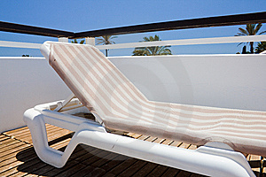 Deckchair In Resort Stock Photos - Image: 14421573