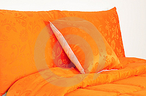 Bedding. Isolated Stock Image - Image: 14421761