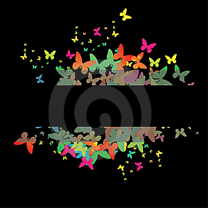 Decorative Colorful Butterfly. Stock Photos - Image: 14423923