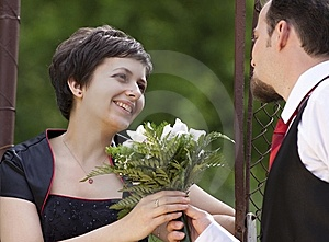 Happy Young Couple Stock Images - Image: 14424384