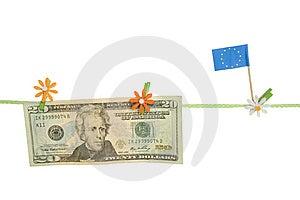 Dollar EU Stock Image - Image: 14426551