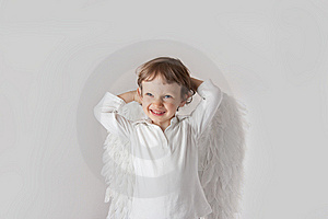Angel Boy Stock Images - Image: 14427054