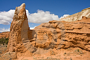Eroded Spires Royalty Free Stock Image - Image: 14427326