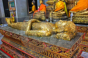 Sleeping Buddha Royalty Free Stock Image - Image: 14427656