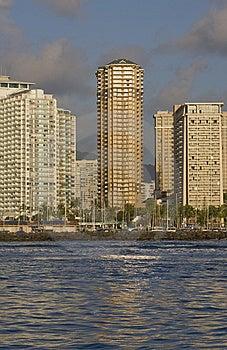 Waikiki Buildings Stock Photos - Image: 14428583