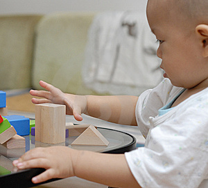 Wooden Toy Blocks Stock Images - Image: 14428724