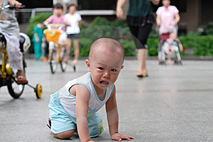 Crying Asian Baby Royalty Free Stock Photos - Image: 14428728
