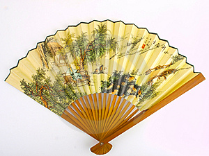 Traditional Chinese Fan Stock Images - Image: 14428844