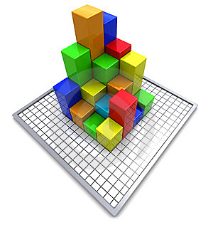 Business Charts Royalty Free Stock Photos - Image: 14429748
