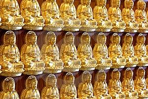Golden Buddha Royalty Free Stock Photo - Image: 14430265