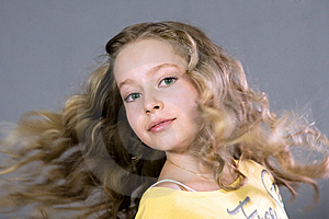 Portrait Of A Beautiful Teenager. Royalty Free Stock Photo - Image: 14433775