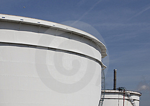 Oil Tanks Royalty Free Stock Photos - Image: 14434748