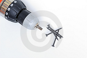 Electric Drill Royalty Free Stock Image - Image: 14436066