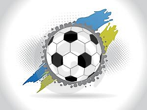 Abstract Halftone Football Background Stock Images - Image: 14436144