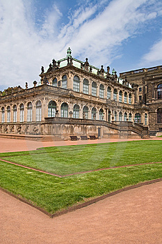 Zwinger Palace Museum Dresden Royalty Free Stock Photo - Image: 14436225