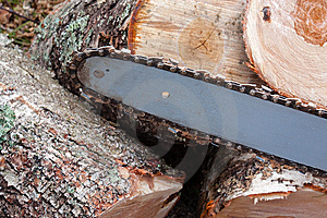 Chainsaw Blade Stock Photography - Image: 14437102
