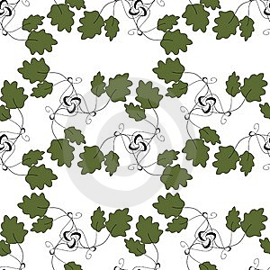 Seamless Floral Pattern Royalty Free Stock Image - Image: 14437566
