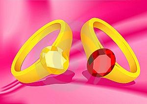 Couple Rings Stock Photo - Image: 14439570