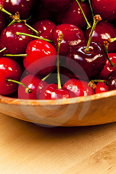 Close Up With Cherries Stock Photography - Image: 14441482