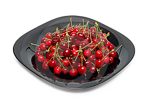 Fresh Ripe Cherry Berry Stock Photo - Image: 14442290