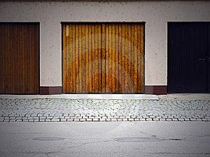Garage Doors Stock Photo - Image: 14442630