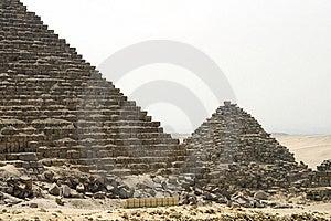 Pyramids Of Giza Royalty Free Stock Images - Image: 14443279