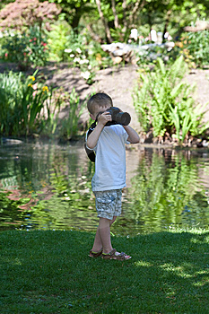 Nature Photographer Stock Image - Image: 14448711