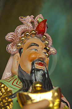 Buddha Of Wealth Royalty Free Stock Photo - Image: 14449765