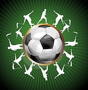 Football Background Stock Photo - Image: 14450680