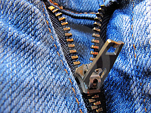 Zipper Jeans Royalty Free Stock Photo - Image: 14451385