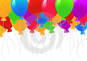 Colored Balloons Stock Images - Image: 14453194