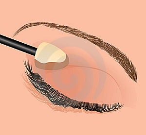 Perfect Mascara Royalty Free Stock Photo - Image: 14453275