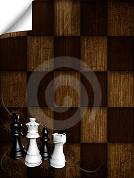 Chess Board Royalty Free Stock Images - Image: 14454039
