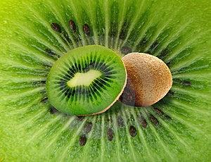 Kiwi On Kiwi Stock Image - Image: 14454181