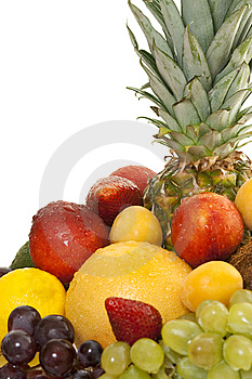 Various Types Of Fresh Fruit Stock Photography - Image: 14456852