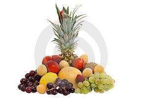 Various Types Of Fresh Fruit Royalty Free Stock Photo - Image: 14456865