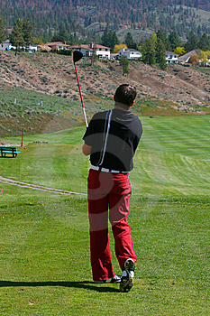 Young Golfer Royalty Free Stock Images - Image: 14456939